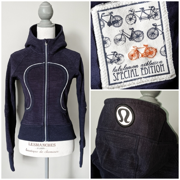 RARE Lululemon Special Edition Ride On Hoodie